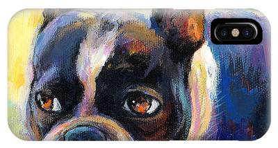 Boston Terrier IPhone X Cases