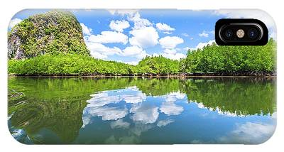IPhone Case featuring the photograph Phang Nga Bay by Benny Marty