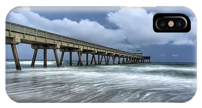 Pier Time Lapse IPhone Case