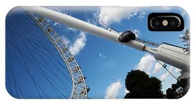 Pillar Of London S Ferris Wheel  IPhone Case