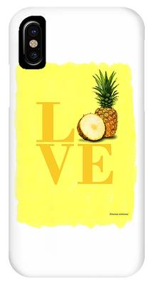 Pineapple Photographs iPhone Cases