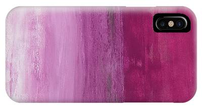 IPhone Case featuring the painting Pink Flow by Kim Nelson