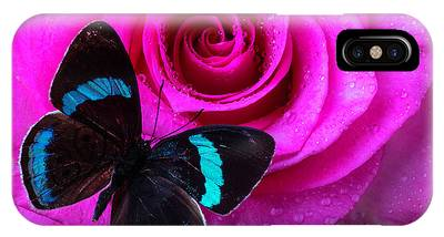 Wet Rose Phone Cases