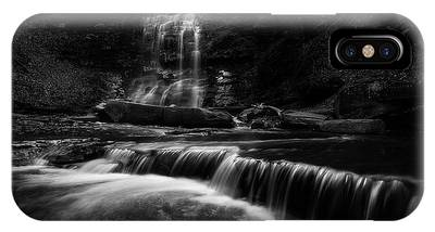 IPhone Case featuring the photograph Plotter Kill Falls by Brad Wenskoski