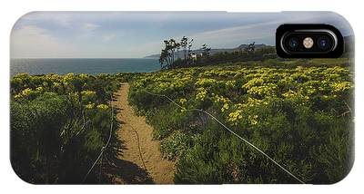IPhone Case featuring the photograph Point Dume Spring Wildflowers by Andy Konieczny