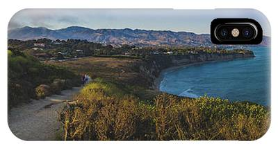 IPhone Case featuring the photograph Point Dume Sunset Panorama by Andy Konieczny