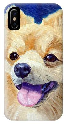 Pomeranian IPhone X Cases