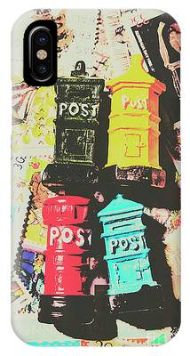 IPhone Case featuring the photograph Pop Art In Post by Jorgo Photography - Wall Art Gallery