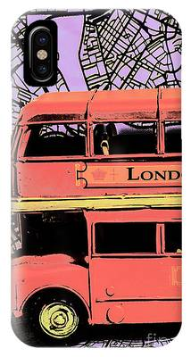 IPhone Case featuring the photograph Pop Art Uk by Jorgo Photography - Wall Art Gallery