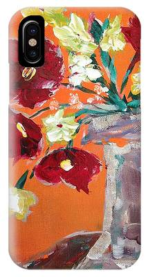 Poppies Paintings iPhone Cases
