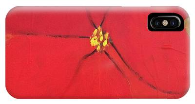 IPhone Case featuring the painting Poppy 2 by Kim Nelson