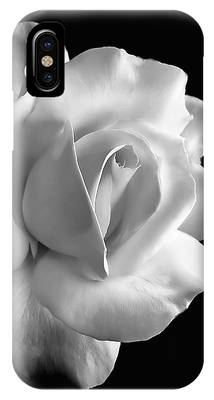 White Flowers Phone Cases