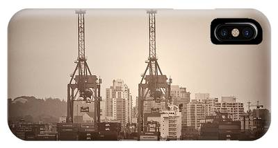 Port Of Vancouver Phone Cases