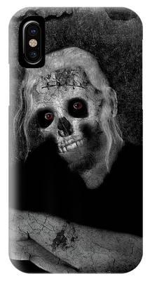 Portrait Of A Zombie IPhone Case