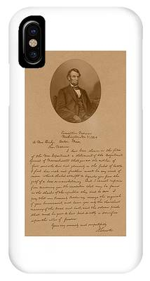 President Lincoln Phone Cases