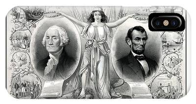 United States Presidents Drawings iPhone Cases