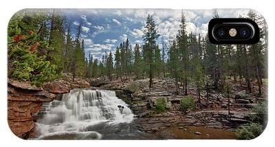 Provo River Falls IPhone Case