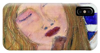 IPhone Case featuring the painting Queen Serene by Kim Nelson