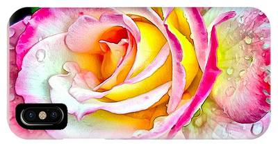 Radiant Rose Of Peace IPhone Case