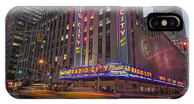 IPhone Case featuring the photograph Radio City New York  by Juergen Held