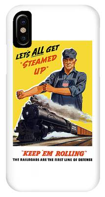 Locomotive Phone Cases