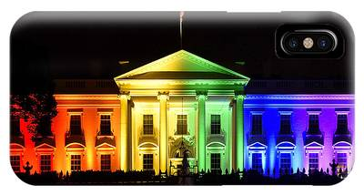 Gay Pride Flag Photographs iPhone Cases