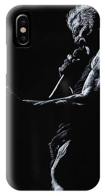 Billy Idol iPhone X Cases