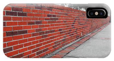 Red Brick IPhone Case
