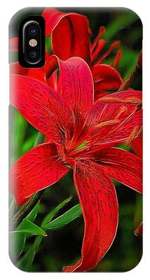 Red Lily IPhone Case