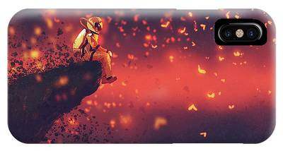Red Planet IPhone Case