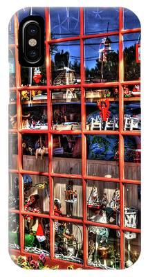 Red Window IPhone Case
