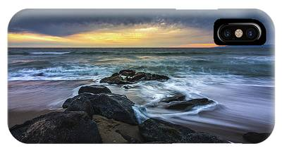 IPhone Case featuring the photograph Redondo Beach Sunset by Andy Konieczny