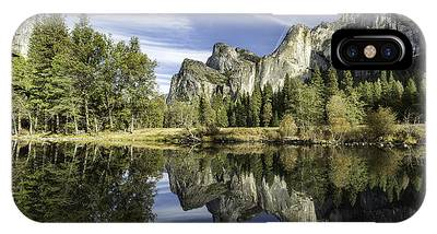 IPhone Case featuring the photograph Reflecting On Yosemite by Chris Cousins