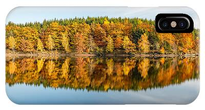 Reflection Of Autumn IPhone Case