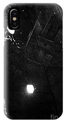 Reflection Of Wet Street IPhone Case