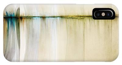 Fractal Landscape Digital Art iPhone Cases