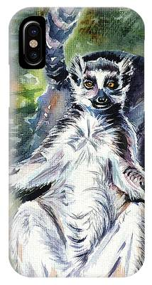 Ring-tailed Phone Cases