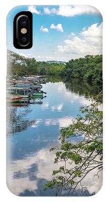 River Boats Docked In Negril, Jamaica IPhone Case