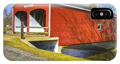 Roberts Covered Bridge IPhone Case