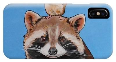 Rodney The Raccoon IPhone Case
