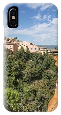 Roussilon Provence  IPhone Case by Juergen Held
