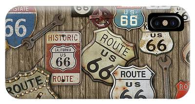 Historic Route 66 Phone Cases