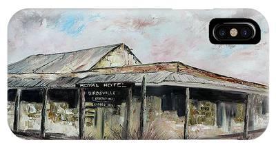 Royal Hotel, Birdsville IPhone Case