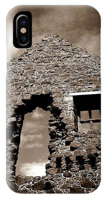 IPhone Case featuring the photograph Ruins At Dunluce by Patricia Strand