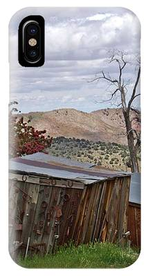 Rustic Cabins On A Hillside IPhone Case by Patricia Strand