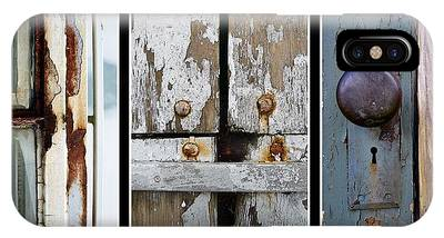 IPhone Case featuring the photograph Rustic Elements by Patricia Strand