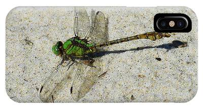 IPhone Case featuring the photograph Rusty Snaketail by Sally Sperry