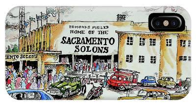 Sacramento Solons Phone Cases
