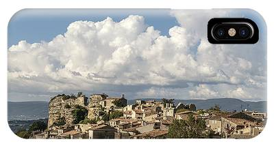 IPhone Case featuring the photograph Saignon Village Provence  by Juergen Held