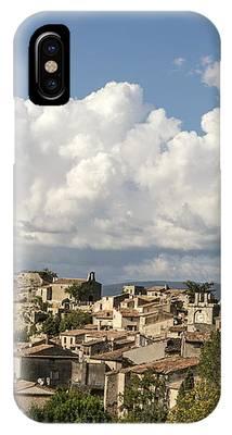 Saignon Village Provence  IPhone Case by Juergen Held